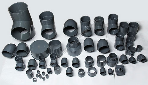Plastic pipe fittings manufacturers in gujarat india for Plastic plumbing pipe types